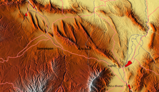 Samangan Place in Samangan Province, Afghanistan