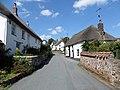 Sampford Courtenay main street view, Devon, England.jpg
