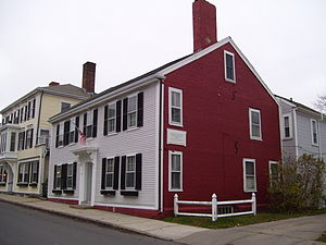 Samuel Fuller (Pilgrim) - Site of Fuller's home on Leyden Street in Plymouth, Massachusetts