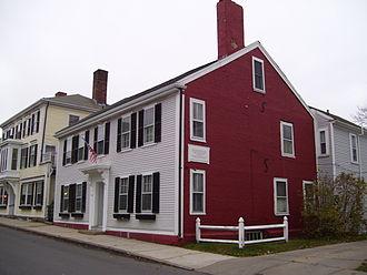 Samuel Fuller (Pilgrim) - Site of Fuller's home on Leyden Street in Plymouth, Massachusetts