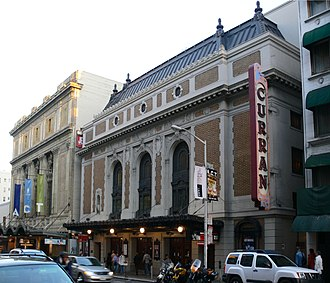 Wicked (musical) - The Curran Theatre in San Francisco, where Wicked made its debut