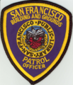 San Francisco Public Library Building and Grounds Patrol Officer Patch.png