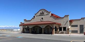 San Luis Valley Regional Airport - Terminal building.