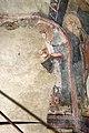 San lorenzo in insula, cripta di epifanio, affreschi di scuola benedettina, 824-842 ca., teoria di sei sante in costume bizantino, 02,0.jpg