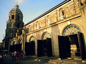 Santa Ana, Manila - Image: Santa Ana Church west side