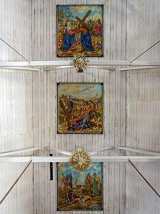 Santa Cruz Cathedral Basilica, Kochi - Ceiling paintings