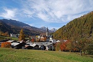 Val Müstair - Image: Santa Maria Val Muestair