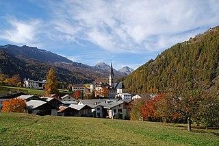Val Müstair Place in Graubünden, Switzerland