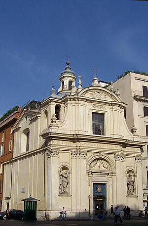 Antoine Derizet - Dérizet 's Church of SS. Claudius and Andrew of the Burgundian, Rome