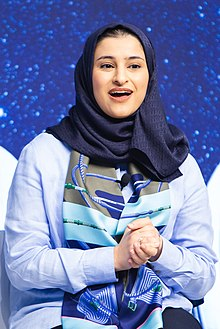 Sarah Amiri - Sustaining the Space Economy - 2019 (48177030097) (cropped).jpg