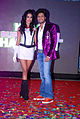 Sarah Jane Dias, Riteish Deshmukh at the Audio release of 'Kyaa Super Kool Hain Hum' 13.jpg