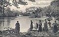 Sauveterre-de-Béarn Un coin du Gave et le Vieux Pont.jpg