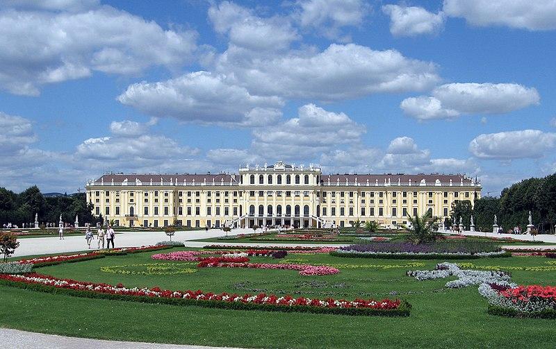 Schönbrunn Palace, Vienna, Austria (source: Wikipedia)