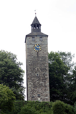Bad Berneck im Fichtelgebirge - Castle tower
