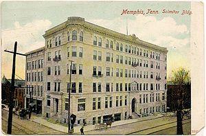 Memphis Press-Scimitar - Image: Scimitar building memphis 1909 postcard