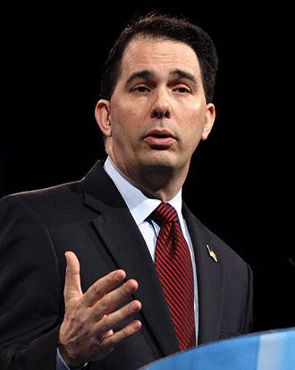 Wisconsin gubernatorial recall election - Image: Scott Walker by Gage Skidmore