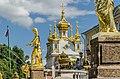 Sculptures on the Grand Cascade of Peterhof 08.jpg