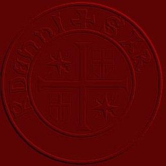 Knights Templar Seal - Image: Seal Brother Arnaude de Banyuls Artistic