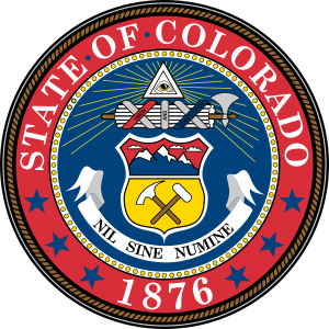English: Great Seal of the State of Colorado