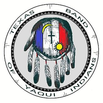 Texas Band of Yaqui Indians - Seal of the Texas band of Yaqui Indians