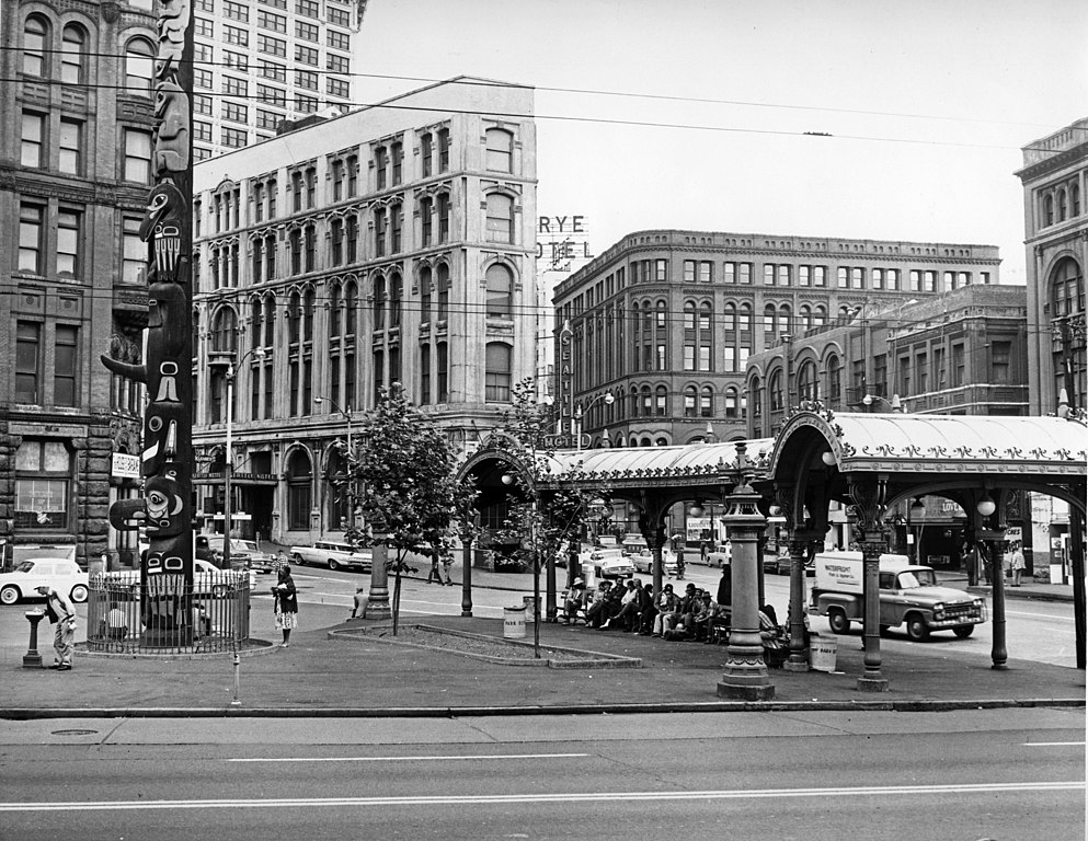File Seattle Pioneer Square 1960 Jpg Wikimedia Commons