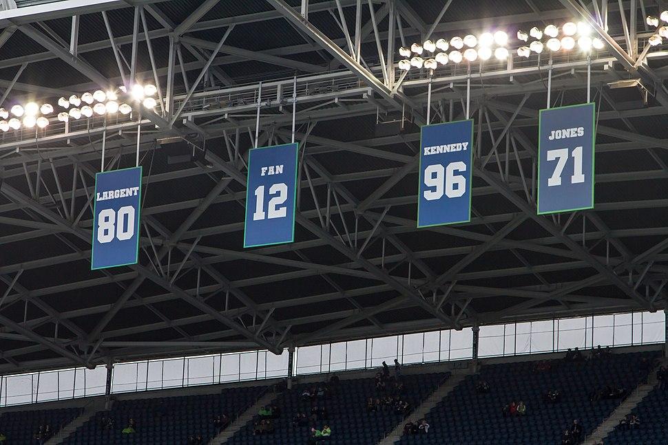 Seattle Seahawks Retired Numbers
