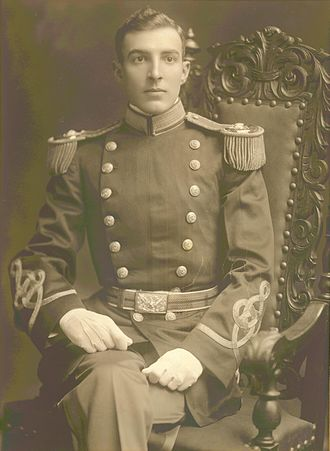 Virginia Tech Corps of Cadets - Lloyd W. Williams Class of 1907 as a 2nd Lt USMC 1909