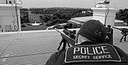 Secret Service on White House roof
