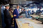 Secretary Kerry Enters the Bridge of the USS San Antonio (22509983997).jpg
