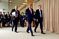 Secretary Kerry Walks With Foreign Secretary Hammond Before First Working Session of G7 Ministerial Meeting (26339538095).jpg