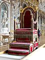 Sedia gestatoria pope Pius VII Restored.jpg