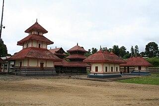 Irulam village in Kerala, India