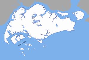 Selat Pandan - Image: Selat Pandan locator map