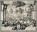 Seminarie en gymnasium te Lingen in Hannover opgericht door Willem III, ca. 1697. NL-HlmNHA 53008723.JPG