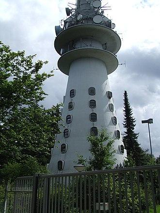 Donnersberg - Image: Sender Donnersberg unten