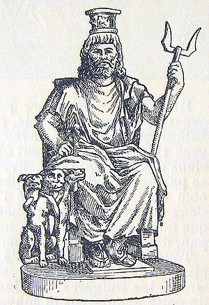 The Hellenistic-Egyptian god Serapis and his a...