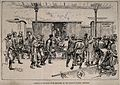 Serbo-Bulgarian War; arrival of wounded to Belgrade from Sli Wellcome V0015498.jpg