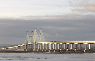 Second Severn Crossing M4 motorway bridge over the Severn Estuary in the United Kingdom