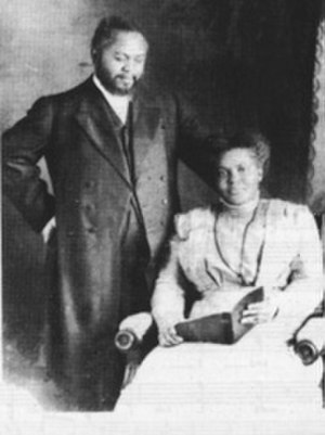 Azusa Street Revival - Seymour and his wife, Jennie