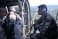 Sgt. 1st Class Santiago Larriva joins Indian Army soldiers in an Indian Army Advanced Light Helicopter during Yudh Abhyas 2009.jpg
