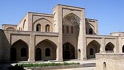 Shah Abbasi caravanserai of Marand.JPG