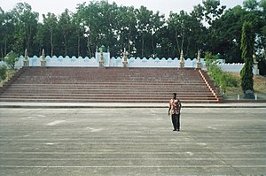 Sylhet District - Shahi Eidgah in Sylhet is one of the oldest and largest Eidgahs in Bangladesh and a popular tourist spot