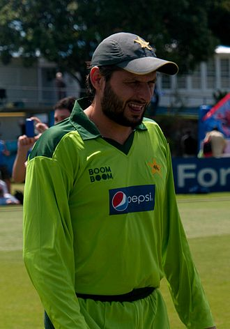 Boundary (cricket) - Shahid Afridi holds the world record for most sixes in ODIs.