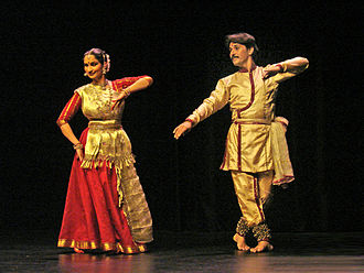 Kathak - Kathak performance by Sharmila Sharma and Rajendra Kumar Gangani at the Guimet Museum (November 2007)