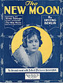 Sheet music cover - THE NEW MOON (1919).jpg
