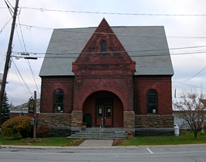 Port Henry, New York - Sherman Free Library