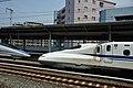 Shinkansen 500 & N700 (8086228690).jpg