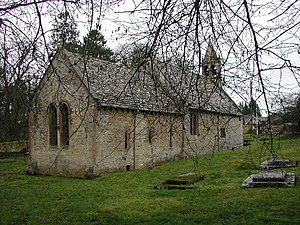 Shipton, Gloucestershire - St Oswald's Church in Shipton Oliffe