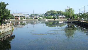 1792 Unzen earthquake and tsunami - Lake Shirachi