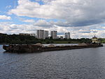 Shlyuzovoy-133 on Khimki Reservoir 18-jul-2012 01.JPG